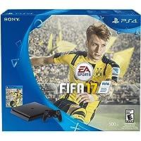 Consola PlayStation 4 Slim, 500GB + Juego FIFA 2017 - Standard Edition