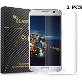 Cdet 2 PCS Samsung Galaxy S7 Edge Verre trempé HD Clear Protecteur d'écran Haute qualité Perfect Premium Protector pour Samsung Galaxy S7 Edge Écran courbé Screen Protector