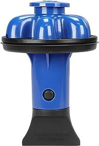 Danco 10919 | Disposal Genie II Garbage Disposal Strainer and Stopper, Kitchen Sink Drain Splash Guard with Food Scraper, Blueberry, 1-Pack