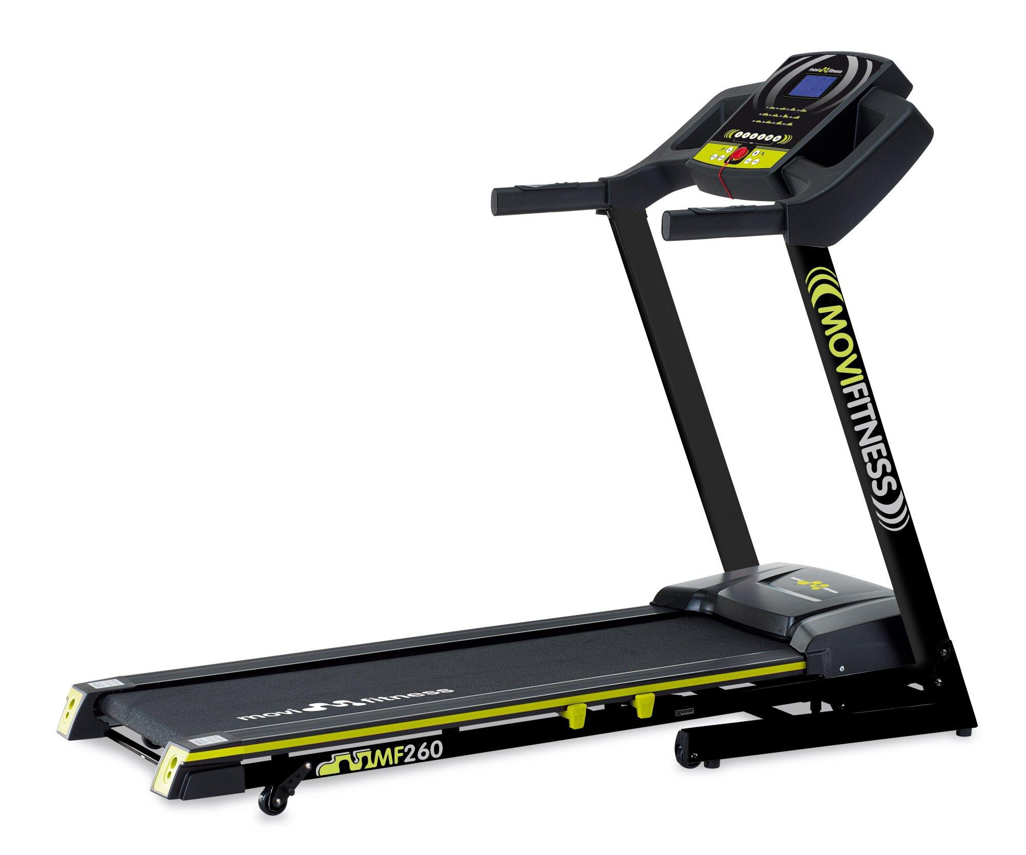 Movi Fitness MF260 Tapis Roulant ad Inclinazione Manuale, Nero product image