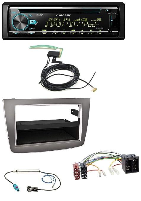 Pioneer X780 0dab CD MP3 AUX DAB USB Radio de coche para Alfa Romeo Mito 955