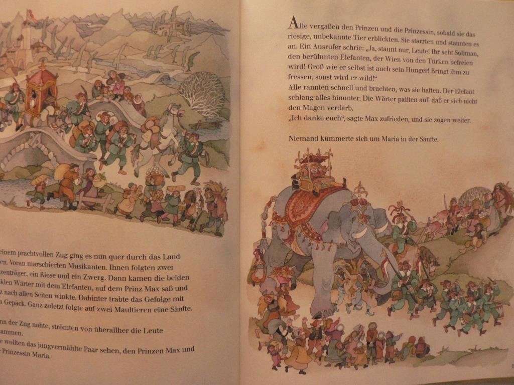 'Suleiman the Elephant', a children's book by Margret Rettich. Image via Amazon.com