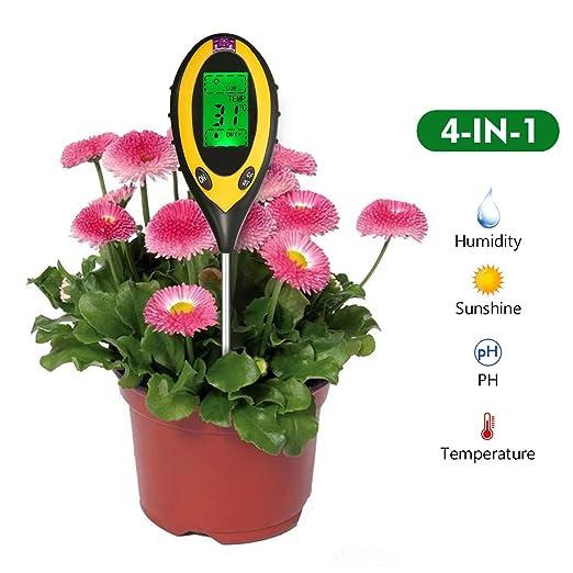 3 opinioni per 4 in 1 Tester del Suolo multifunzione Pathonor tester ph terreno tester umidità