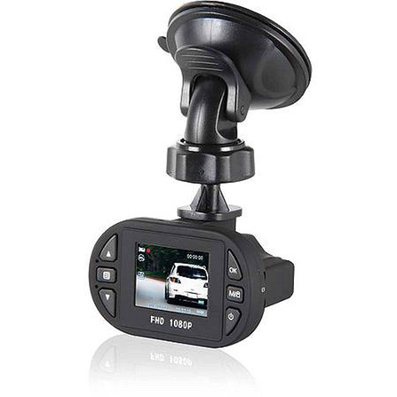 The Dual Function (Photo/Video) Smart Gear 1080p Dash Cam Recorder with Accessories