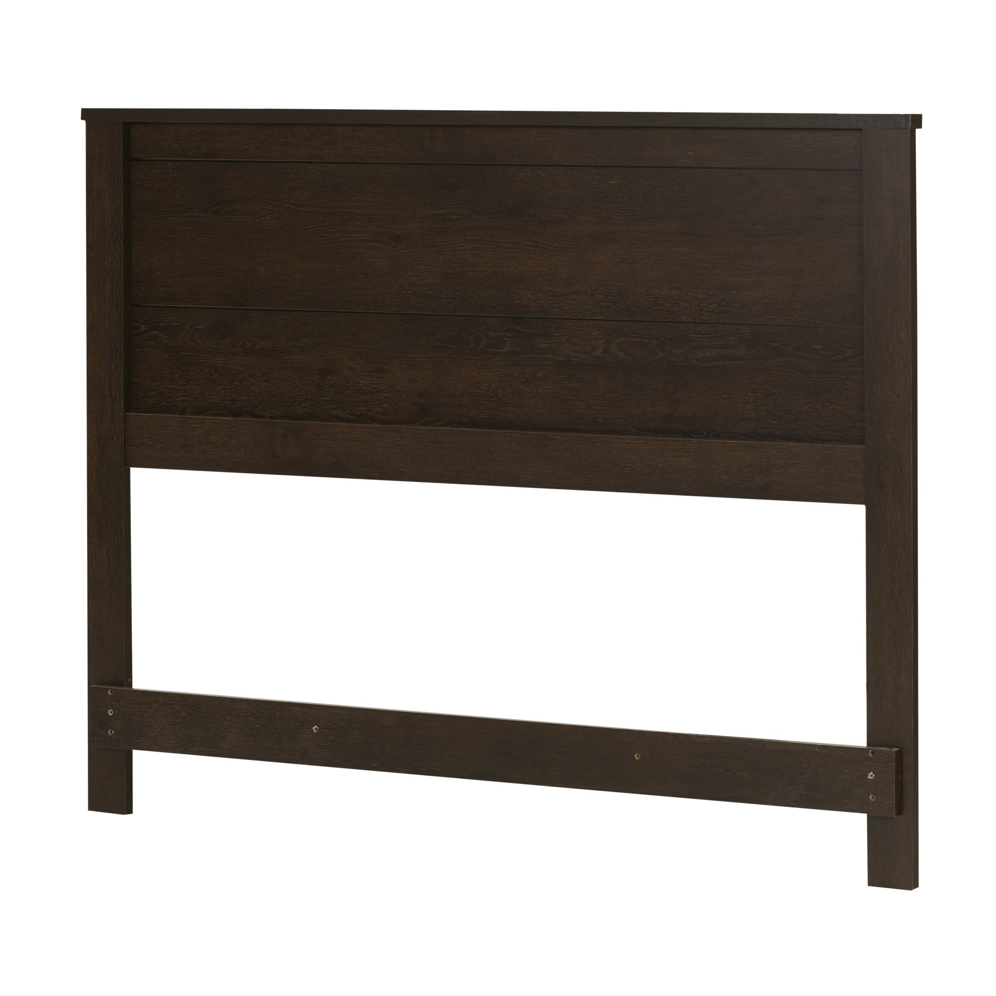 South Shore Fynn Headboard Full 54-Inch, Brown Oak