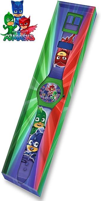 PJ Masks- PJMasks Reloj analógico en Estuche 25x5 Smart ...
