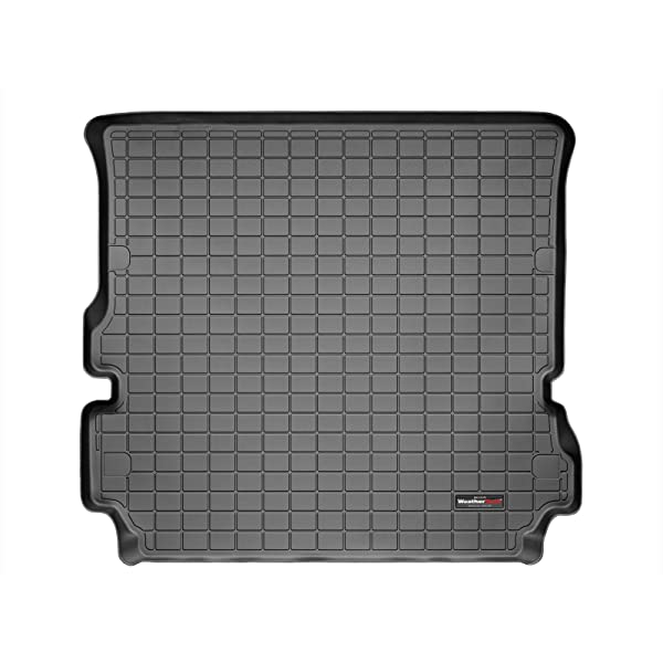 Black WeatherTech Custom Fit Cargo Liners for Land Rover Range Rover Sport