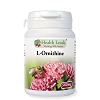 L-Ornithine 500mg x 50 capsules (100% Additive Free)