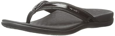 f67c241590fc Vionic Women s Tide II Toe Post Sandal - Ladies Flip Flop with Concealed  Orthotic Arch Support