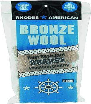 Homax Bronze Steel Wool Pad Medium