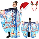 JERXUNY Halloween Costume Butterfly Wings Shawl for Women Fairy Adult Soft Butterfly Wings Ladies Cape