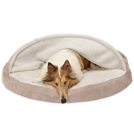 Amazon.com: Furhaven Cama para mascotas con diseño redondo ...