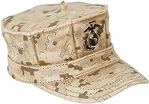 Kurt Adler U.S. Marine Corps Cap Christmas Ornament