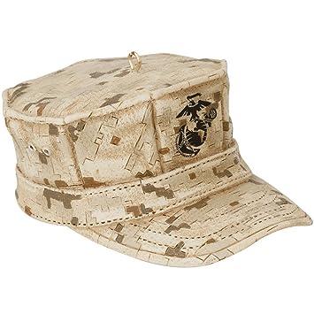 Amazon.com: Kurt Adler U.S. Marine Corps Cap Christmas Ornament ...