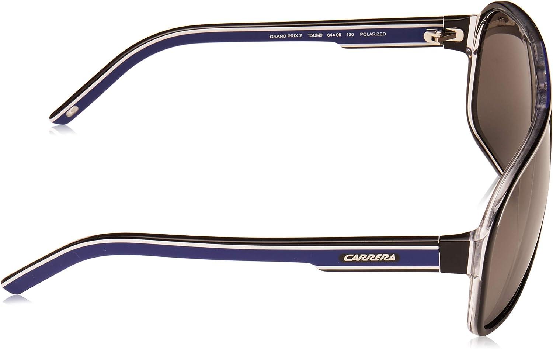 Acetato GRAND PRIX 2 Carrera Occhiali da sole Uomo Rettangolare Custodia protettiva inclusa
