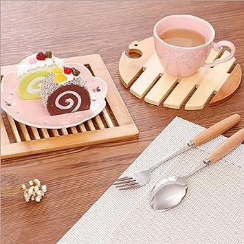 kitchen table matmuxika fashion wooden insulation mats emubody place mats quick drying placemat. beautiful ideas. Home Design Ideas