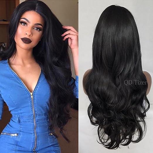 Wigs with Bangs Black Women