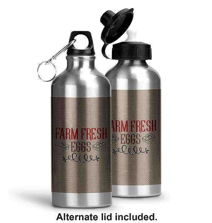 Amazon.com: Farm Quotes Water Bottle - Aluminum - 20 oz (Personalized): Kitchen & Dining