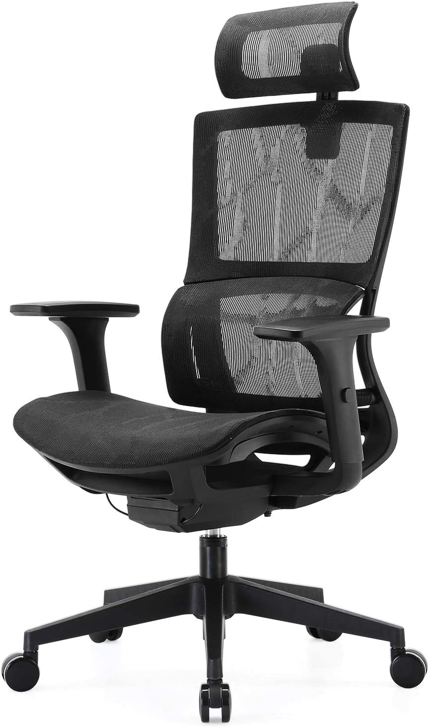 SIHOO Ergonomic Office Chair UK - Adjustable 3D Armrest