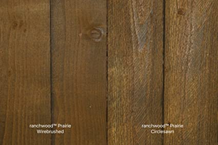 Montana Timber Products Ranchwood Sample Colors  Exterior Siding And Interior  Wall Cladding (Prarie)