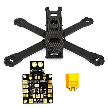 LHI 220-RX H210 H220 FPV Racing Quadcopter Frame Carbon Fiber +PDB ...