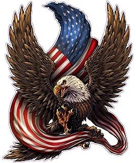 amazon com american eagle american flag huge 24 x 21 decal free