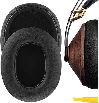 Geekria QuickFit proteína Almohadillas para orejas Meze 99 Classics, Meze 99 Neo auriculares, almohadillas de repuesto para orejas/cubierta, piezas de ...