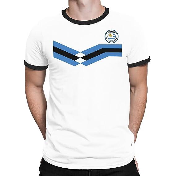 Tee Spirit Uruguay Camiseta Para Hombre World Cup 2018 Fútbol New Style Retro: Amazon.es: Ropa y accesorios