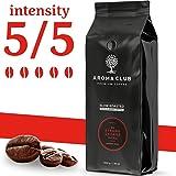Aroma Club Coffee Beans 1KG - Dark Roast Strong George - Strong Coffee Beans - Brazilian Coffee - Slow Roast & CO2 Neutral