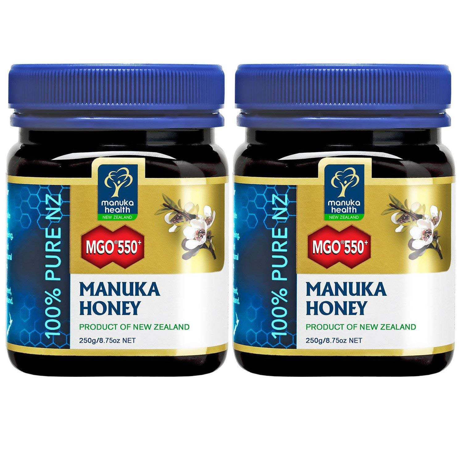 Manuka Health MGO 550+ Manuka Honey (250g) - Pack of 2
