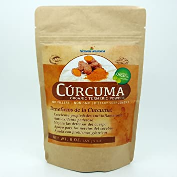 Amazon.com: Curcuma Organic Turmeric Powder 8 oz: Health ...