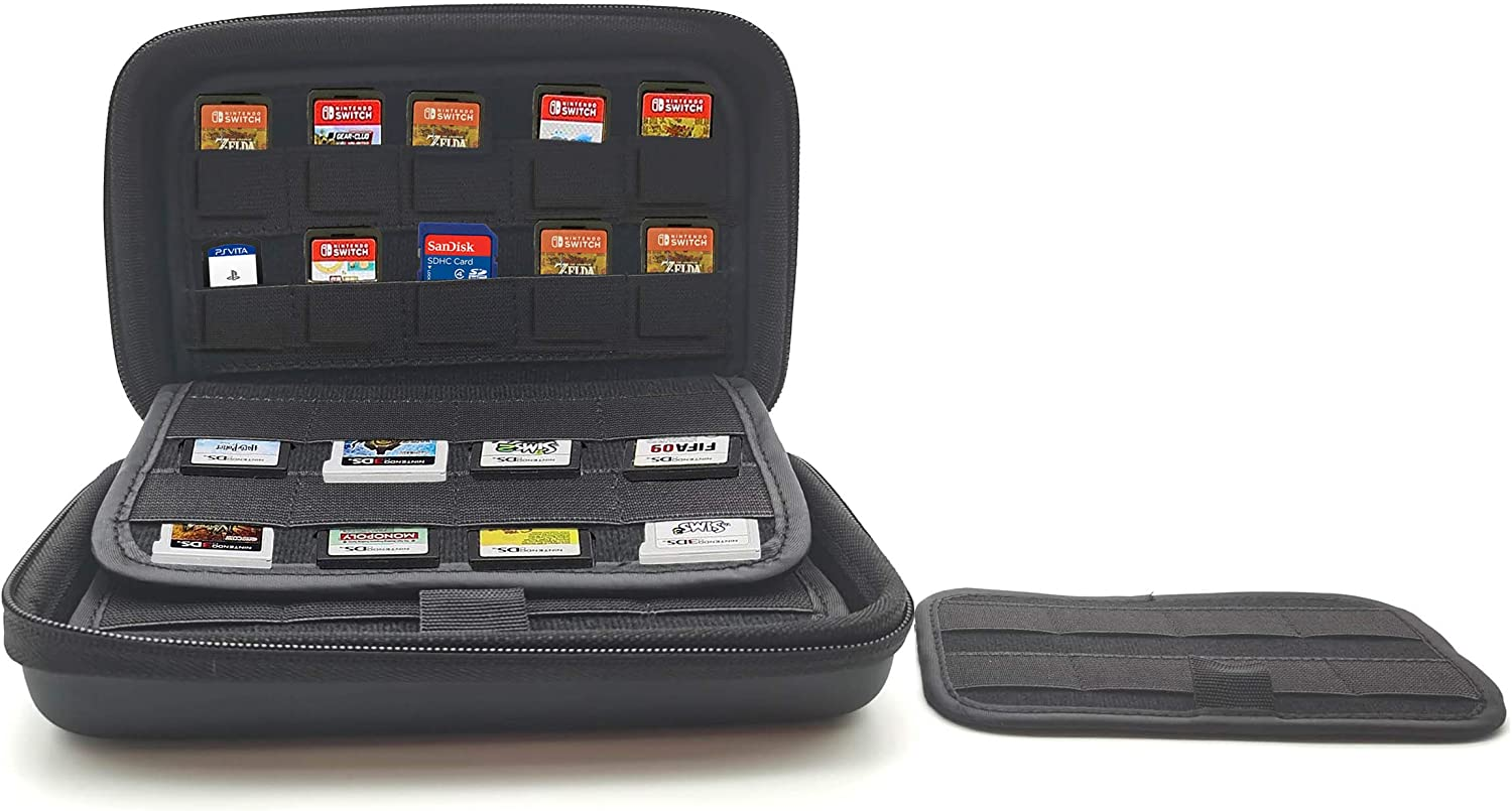 88 Game Case Cartridge Holders Storage | 48 Nintendo 3DS 2DS DS Games and 40 Nintendo Switch Sony Ps Vita Games SD Memory Cards