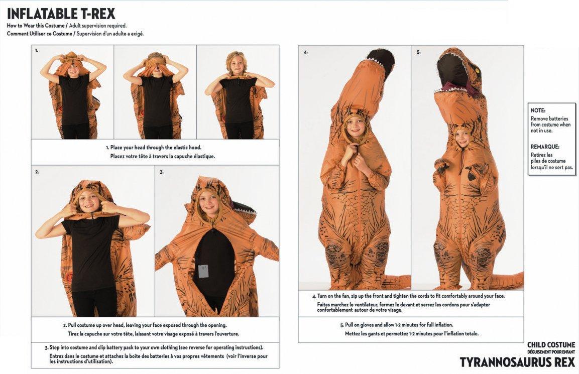 patterns Adult dinosaur costume