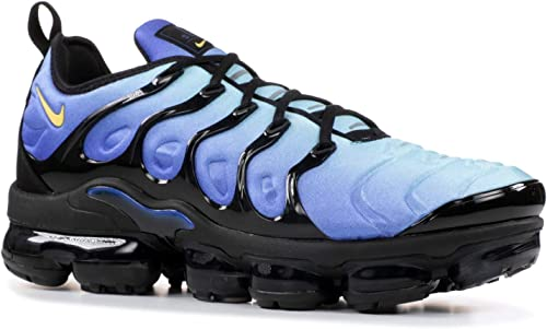 Nike SCARPA BASSA AIR VAPORMAX PLUS BLACKCHAMOISHYPER BLUE