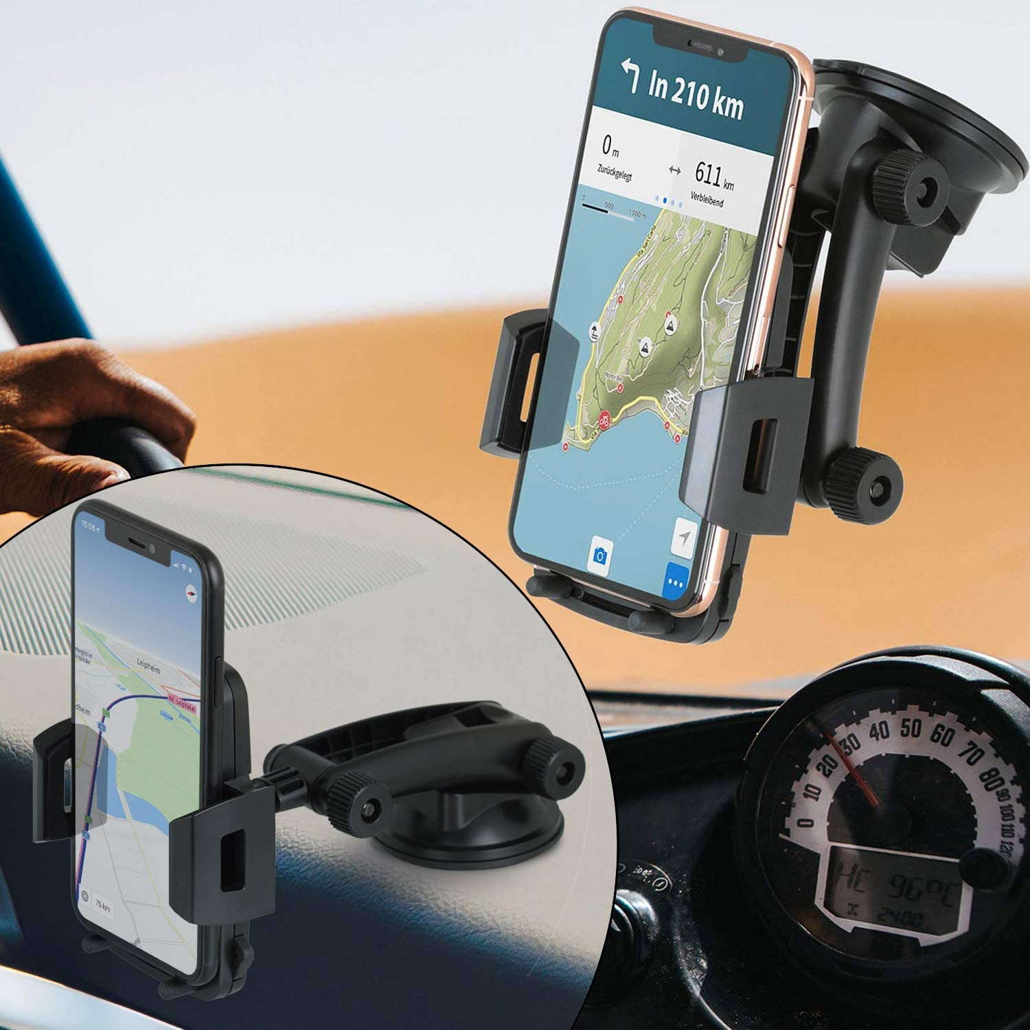 Wicked Chili Car Phone Holder Compatible With Iphone Se Elektronik