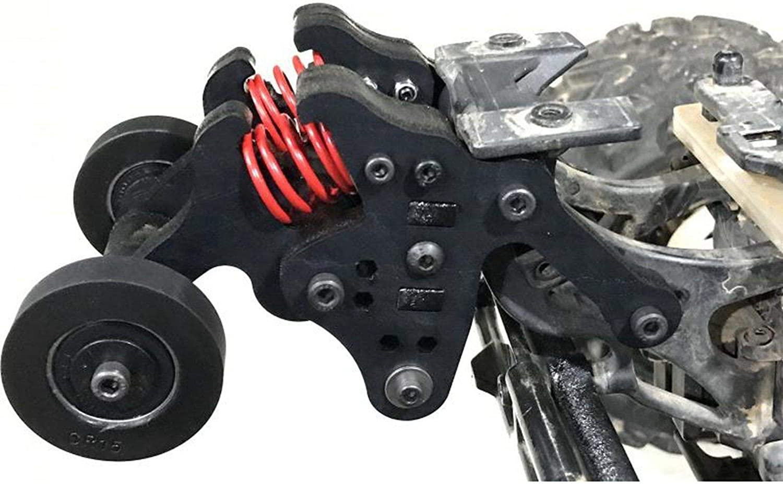 For Traxxas Erevo E-revo 2.0 1//10 RC Car Dual Wheel Wheelie Bar Kit Assembled