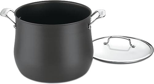 Cuisinart Contour Hard Anodized 12-Quart Stockpot
