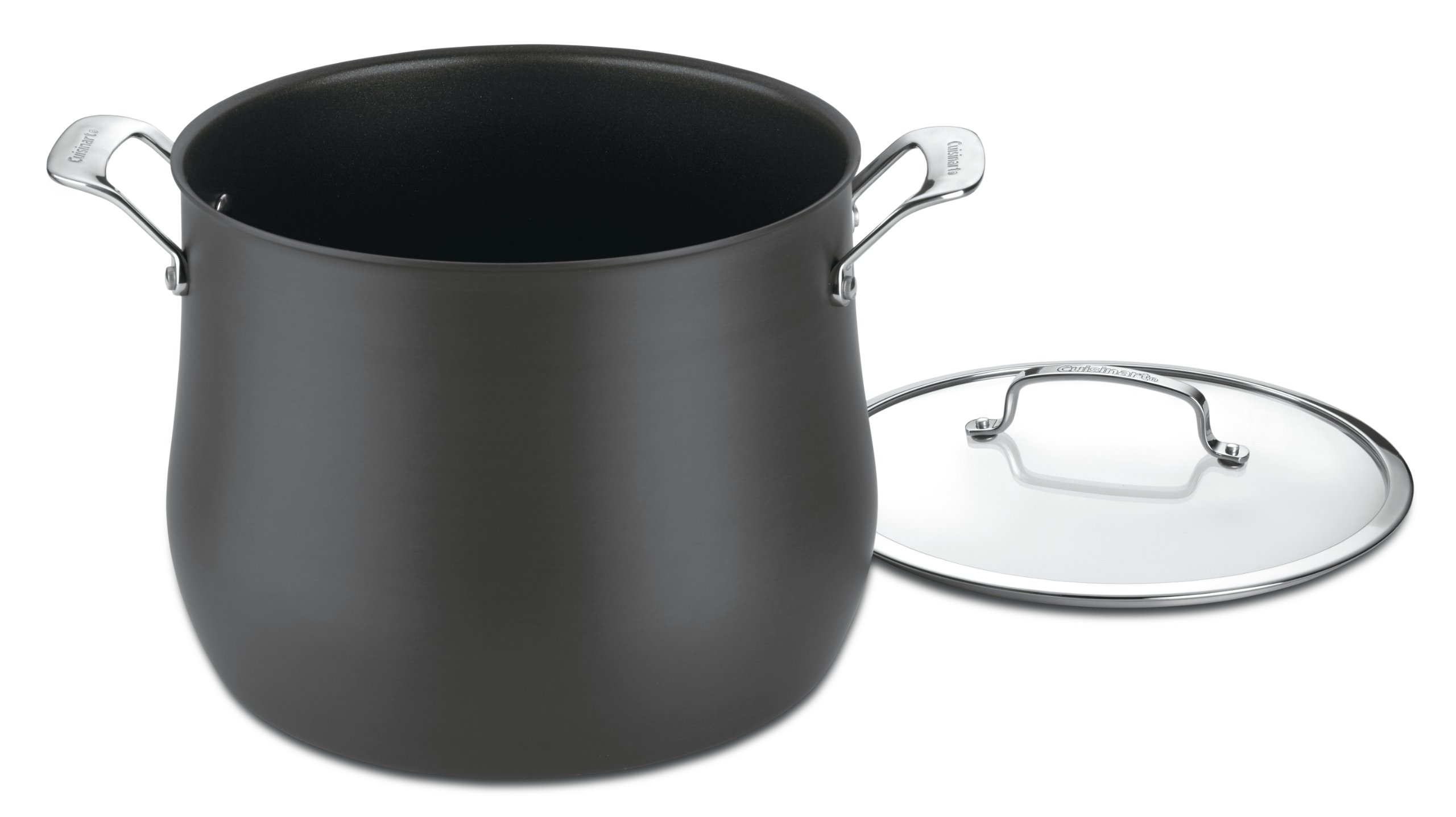 Cuisinart 6466-26 Contour Hard Anodized 12-Quart Stockpot with Cover by Cuisinart