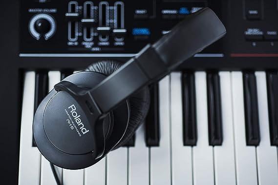 ROLAND RH-5 - Auriculares para DJ (tipo cerrado), color negro