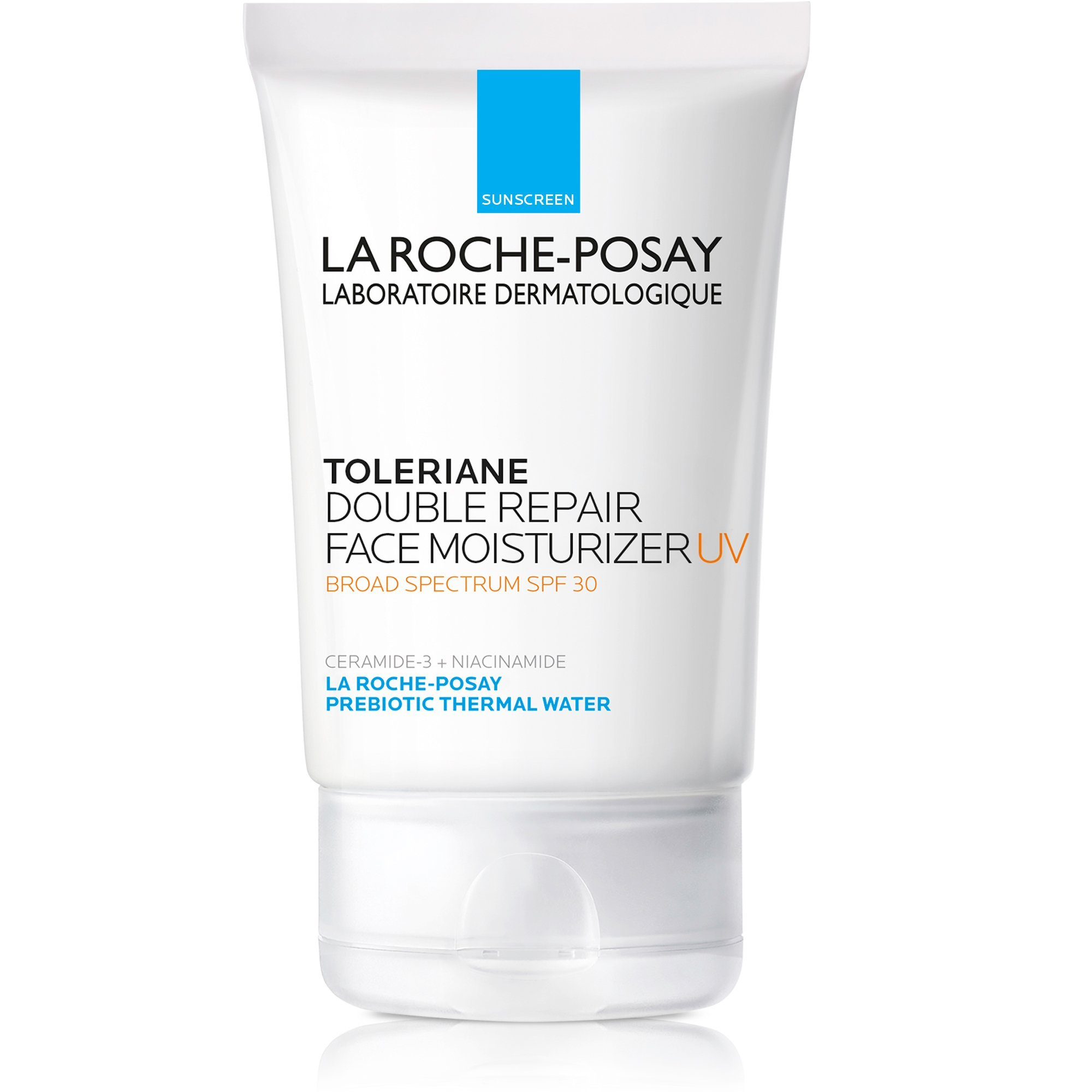 La Roche-Posay Toleriane Double Repair Moisturizer with SPF 30, 2.5 Fl. Oz. by La Roche-Posay