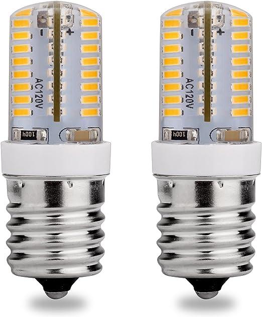 Amazon.com: E17 Candelabra foco LED, 120 V AC, luz blanca ...