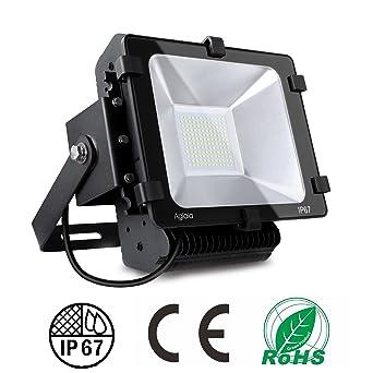 Faro farettoda LED exterior Aglaia Proyector 100 W impermeable ...