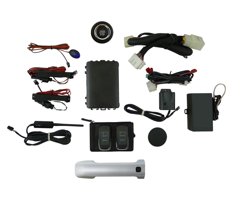 Amazon com: EasyGO AM-FJ-1F7 Smart Key Remote Start and Alarm System