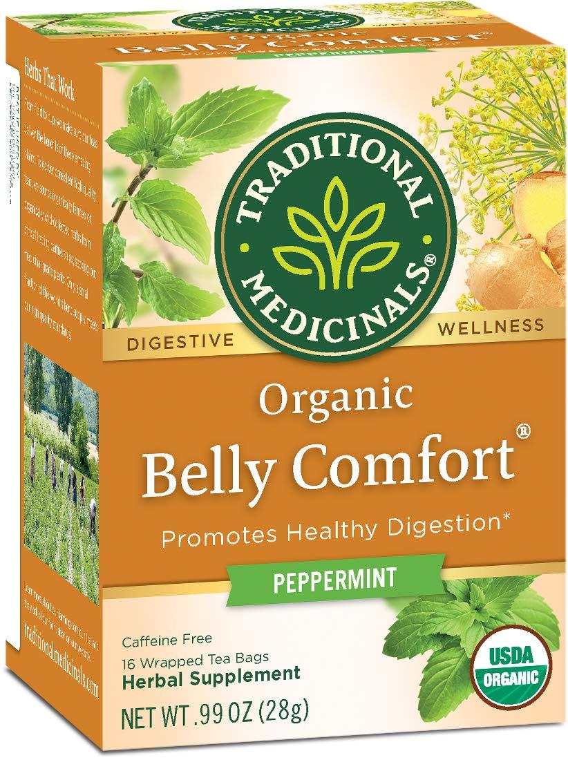 Organic Belly Comfort Peppermint Digestive Tea