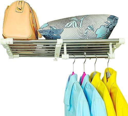 Extensible étagère armoire vêtements organisateur cuisine salle de bain extension étagère
