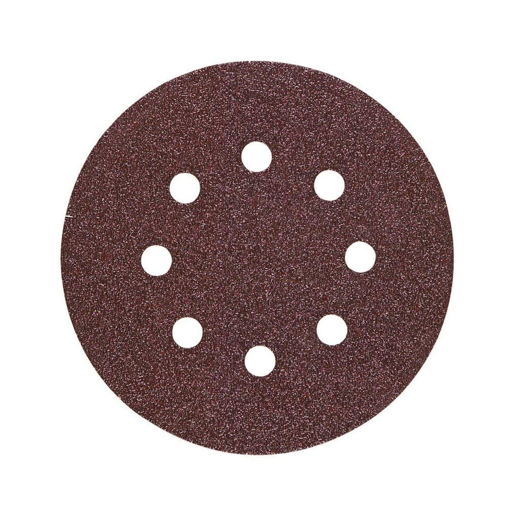 Hitachi 753157 10 ud. Disco de Lija 150 mm grano 180 glue