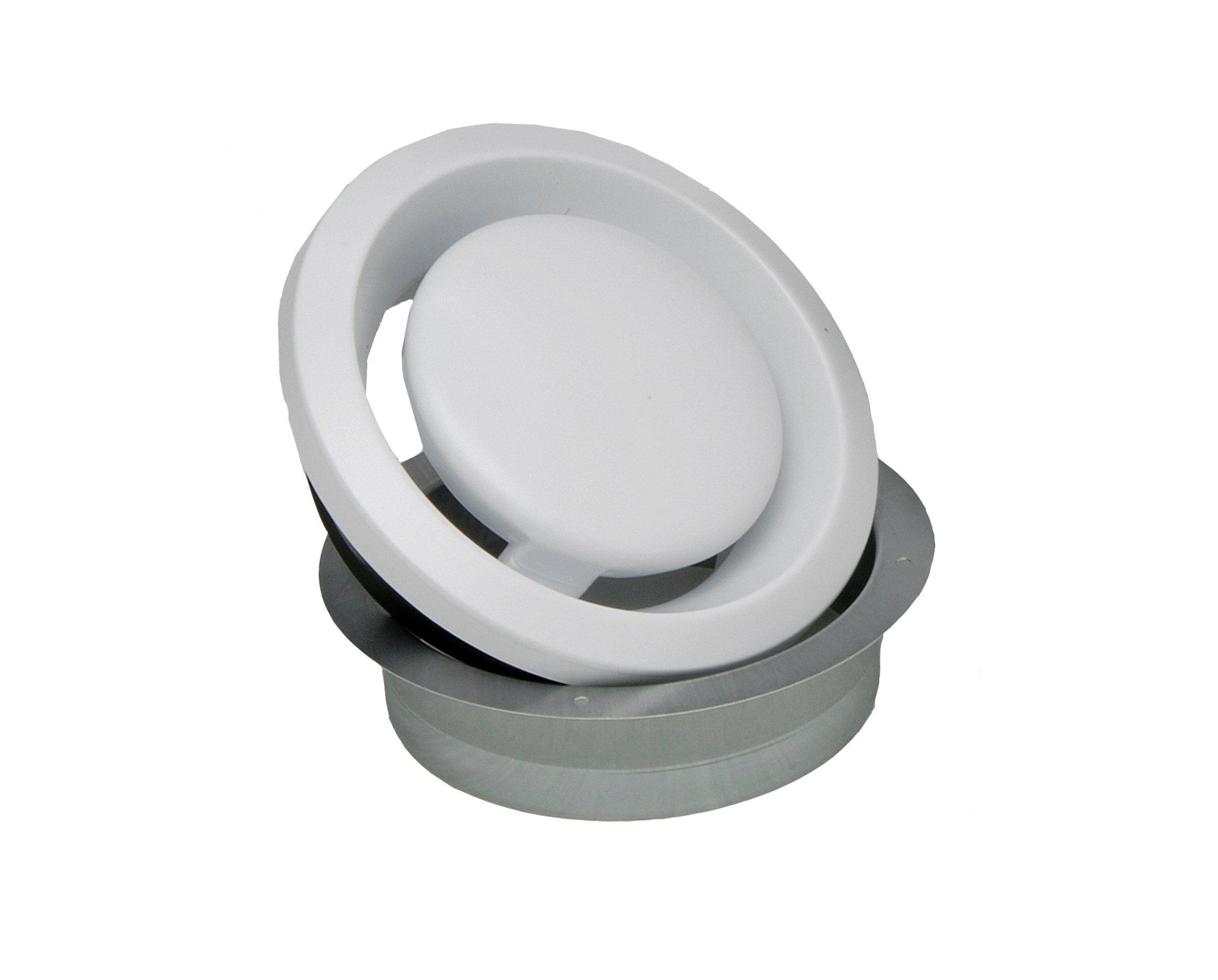 S&P BOC100 Metal Adjustable Round Grilles