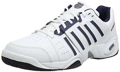 pretty nice aef53 f57a2 K-Swiss Performance KS Tfw Accomplish III, Chaussures de Tennis Homme Blanc  (White