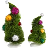 Department 56 Grinch Villages Wonky Trees,  Set of 2