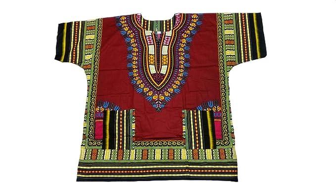 100/% Cotton Men Women Kaftan Dashiki African Festival Hippie Poncho T Shirt Long